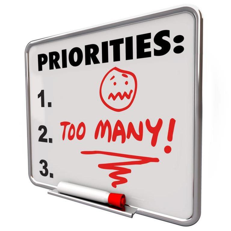 人生の優先順位を決めることで金運アップへ!あなたにとって何が本当に大切なものですか?